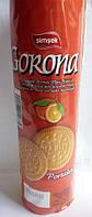 Печенье Gorona апельсиновый вкус 120 g Турция