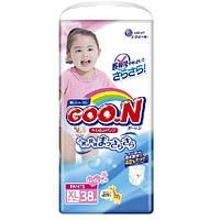 Трусики-подгузники GOO.N / Гун / Кун для девочек 12-20 кг (размер Big (XL), 38 шт)
