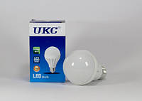 Светодиодная лампочка E27 7W лампа LED круглая