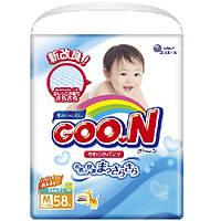 Трусики-подгузники GOO.N / Гун / Кун для детей 7-12 кг (размер M, унисекс, 58 шт)