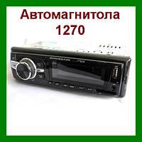 Автомагнитола 1270 MP3/SD/USB/AUX/, автомобильная магнитола, магнитола в авто!Опт