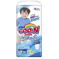 Трусики-подгузники GOO.N / Гун / Кун для мальчиков 12-20 кг (размер Big (XL), 38 шт)