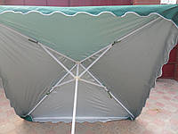 Зонт торговый 1,8х 1,8м с серебряным напылением