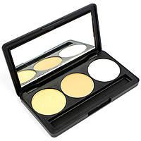 Набор теней для век 3 цвета Beauties Factory Eyeshadow Palette #09 - UNIVERSE