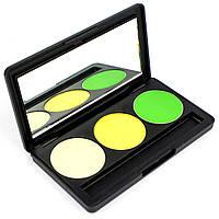 Набор теней для век 3 цвета Beauties Factory Eyeshadow Palette #15 - TREE IN THE CITY