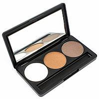 Набор теней для век 3 цвета Beauties Factory Eyeshadow Palette #07 - PYRAMID