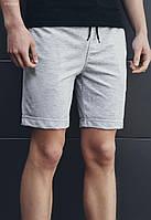Мужские серые трикотажные шорты Staff gray VV0002