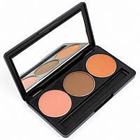 Набор теней для век 3 цвета Beauties Factory Eyeshadow Palette #04 - MATURED GIRL