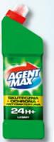 Средство для чистки унитаза Agent Max 1,1л  лесной антибактериальное