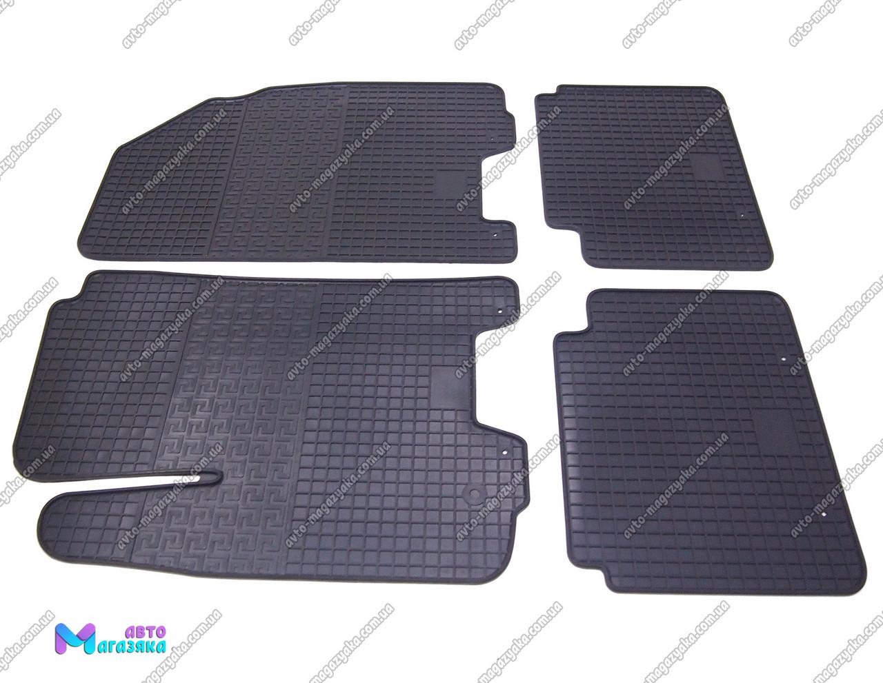 Коврики резиновые для Chevrolet Aveo 2002-2012- (POLYTEP CLASSIC)