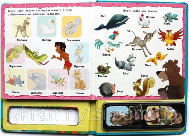 Книги для детей с магнитами купить в Киеве