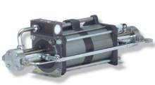 Бустер (усилитель давления) для газов  Maximator DLE 15-75 (Германия). Максимальное давление 875 бар.