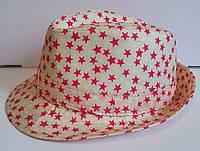 Детская шляпа для девочки со звездами