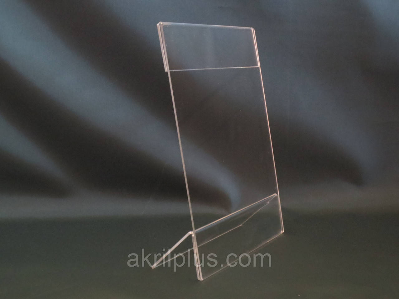 Менюхолдер вертикальный формата 150х210 мм