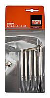 Набор прецизионных отверток шлиц, 6 шт., Bahco, 510031