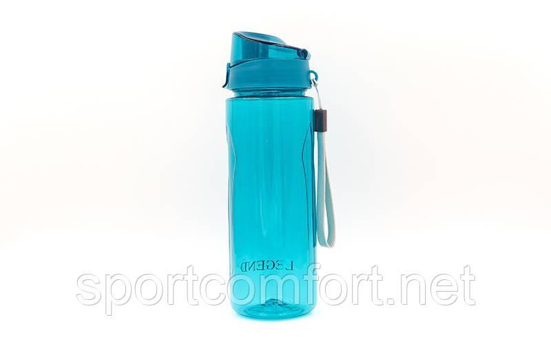 Бутылка для воды спортивная 750 мл (тритан) legend