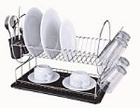 Сушилка 2ух Ярус. (385*230*H=357) мм, кухонная посуда