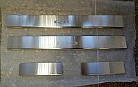 Накладки на пороги Kia Rio III 2011- 4шт. Standart