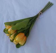 Букет Тюльпанов из 10-ти желтый