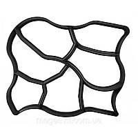 Пластиковая форма для плитки тротуарной садовая дорожка 60х50 см