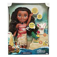 Кукла Дисней Моана и ее друзья (звуковые, световые эффекты), 40 СМ - Moana, Singing Moana and friends, Disney