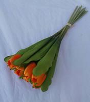 Букет Тюльпанов из 10-ти оранжевый