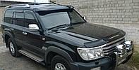 Козырек спойлер лобового стекла солнцезащитный Toyota LC 100