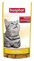 Витамины Beaphar Вит Битс для кошек с мультивитаминной пастой, 35 г