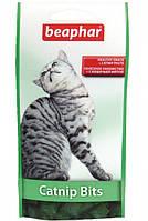 Витамины-подушечки Beaphar Кет Нип Битс с кошачьей мятой для кошек и котят, 150 г