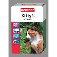 Витамины Beaphar Киттис Протеин для кошек, 180 таб