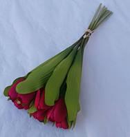 Букет Тюльпанов из 10-ти красный