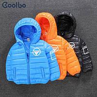 Яркая курточка для малышей на осень/зиму