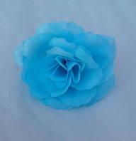 Головка розы (голубой)