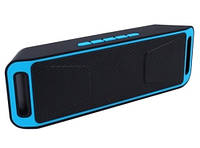Портативная стерео bluetooth колонка SC-208B, фото 1