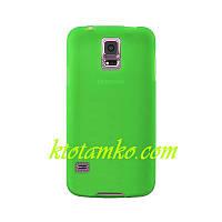 Чехол Smart Silicase Case Samsung I9500 Galaxy S4 Green