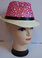 Гламурная детская шляпа для девочек со звездами