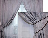 Готовые шторы в комплекте с подхватами, фото 1