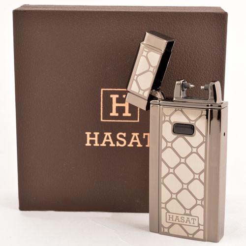"""Электроимпульсная зажигалка в подарочной упаковке HASAT USB PZ4771 - Интернет-Магазин """"Lita-Shop"""" в Одессе"""
