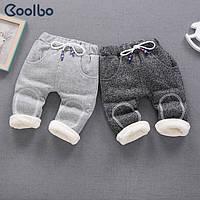 Теплые зимние детские штаны