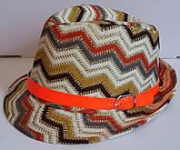 Детская модная шляпа для девочек в полоску