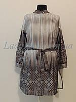 Туника-рубашка женская с поясом