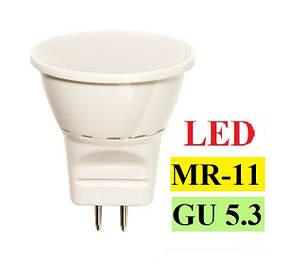 Лампи світлодіодні mr11 gu5.3 led