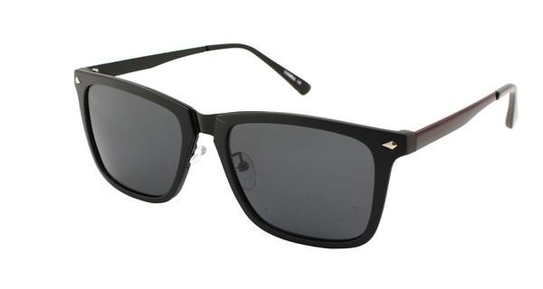 Очки черные солнцезащитные мужские брендовые Consul Polaroid