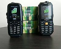 Новинка! Противоударный телефон на 2 sim - Hope (Land Rover) S16 2sim, противоударный, батарея 10000 mAh + Power Bank