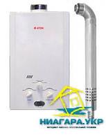 Газовая колонка ATON JSG 16-8CD (турбо с комплектом дымохода)