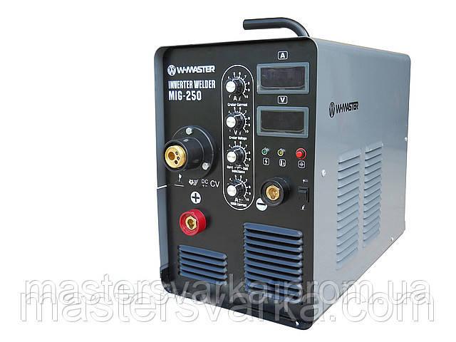 Зварювальний інверторний напівавтомат W-Master MIG-250 (380V)