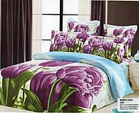 3d Комплект Постельного Белья в Тюльпаны
