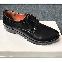 Женские туфли на низком каблуке 40.5 р
