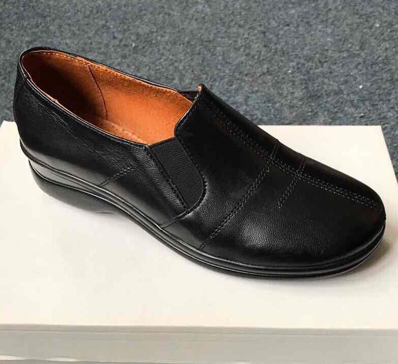Женские туфли на низком каблуке 39 р. - Интернет магазин