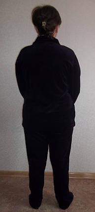 """Спортивный велюровый костюм разм. 60,62,64,66,68,70  """"Южный-2"""", фото 2"""